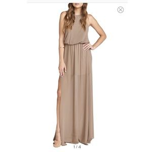 Show Me Your Mumu bridesmaid dress in Dune